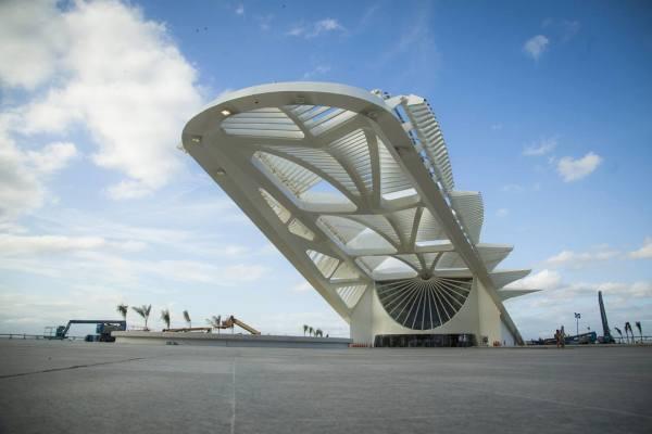 sustentabilidade - museu do amanhã calatrava