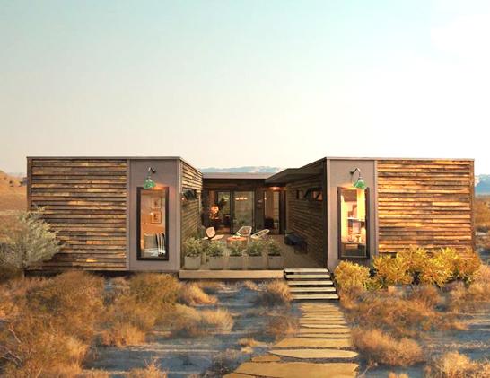 Casas sustentáveis modulares