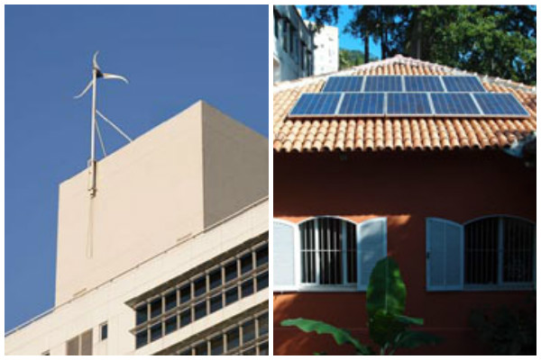 energias alternativas em edifícios