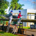 Itaipu vai produzir energia solar em estacionamento