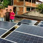 Comunidade carioca recebe geração de energia solar
