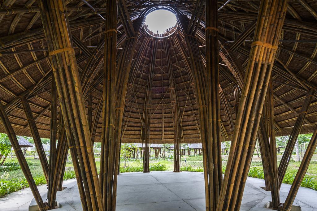 Cúpula de Bambu  Vo Trong Nghia  (13)