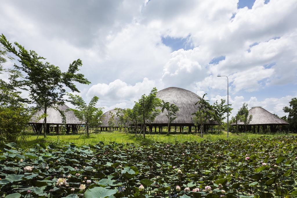 Cúpula de Bambu  Vo Trong Nghia  (2)