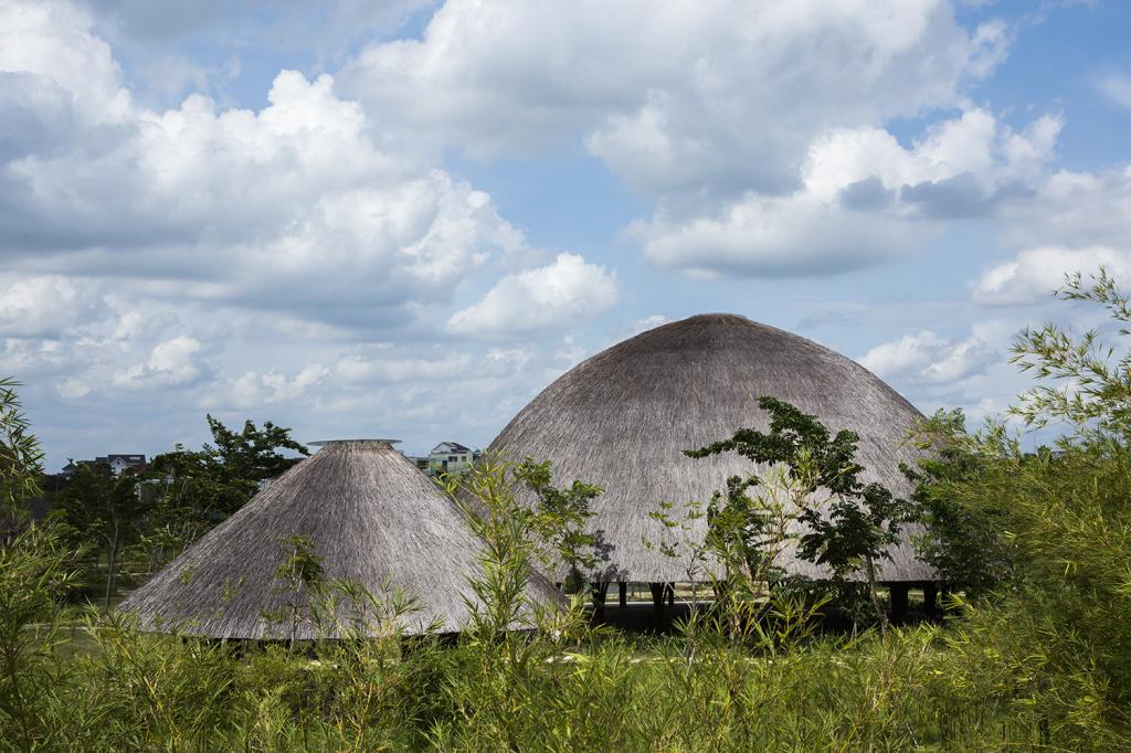 Cúpula de Bambu  Vo Trong Nghia  (4)