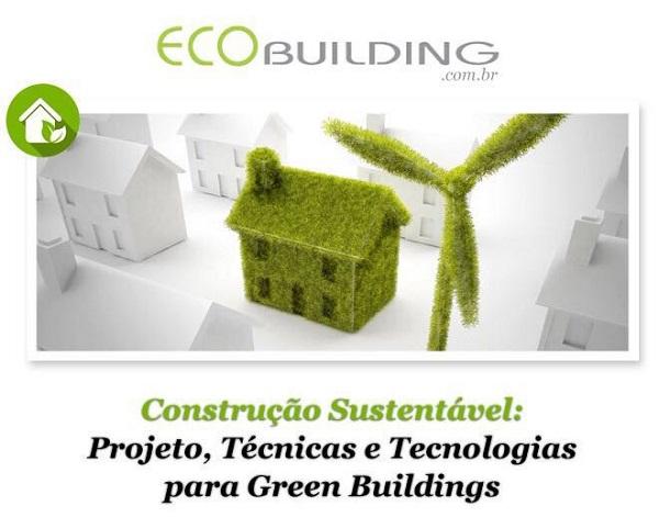 curso de construção sustentável ecobuilding