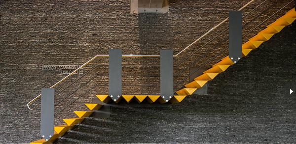 Edifício Jacarandá escada