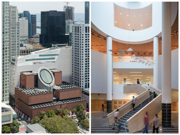 Reforma sustentável Museu de Arte de Moderna de São Francisco