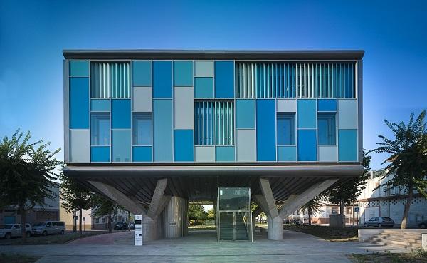 edifício inteligente em Málaga