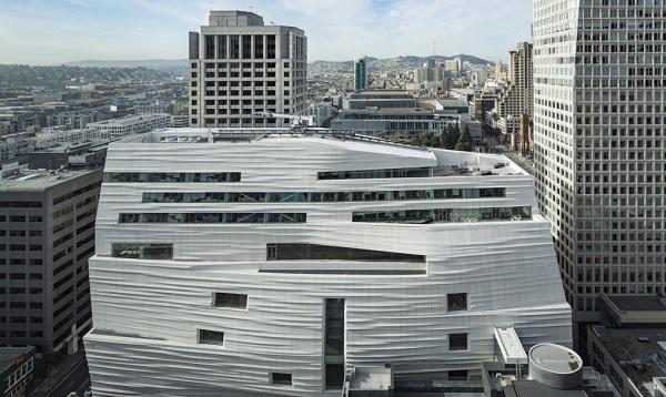Museu de Arte Moderna de São Francisco expansão sustentável