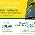 Brasil Solar Power – Conferência e Exposição