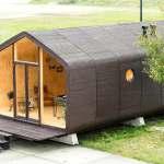 Wikkelhouse: casa eco-eficiente montada em apenas um dia