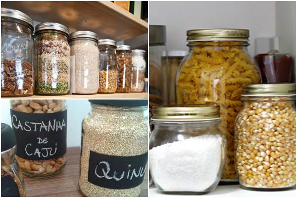 Dicas para reutilizar potes de vidro na decoraç u00e3o SustentArqui -> Decoração De Vidros De Conserva Com Eva