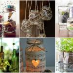 Dicas para reutilizar potes de vidro na decoração