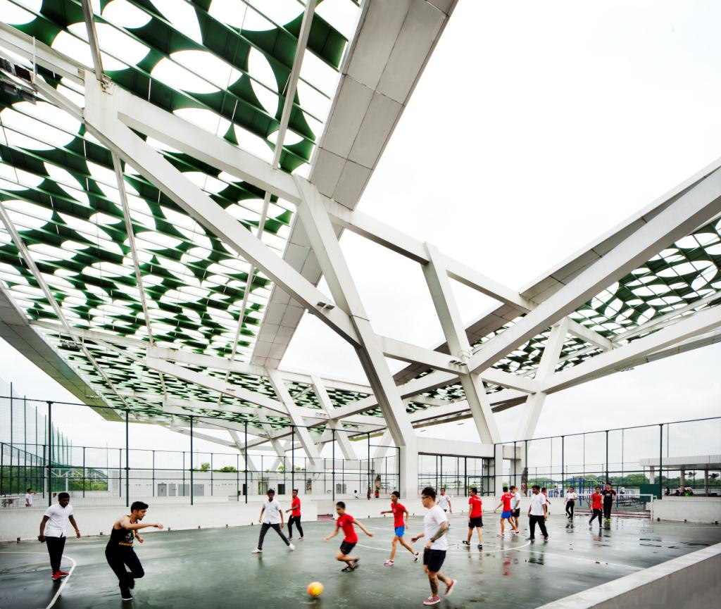 Jardim Vertical em Cingapura