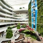 Jardim Vertical em Cingapura é a peça chave em Instituto para jovens