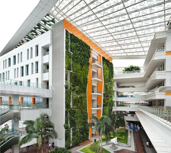 jardim vertical vantagens:Jardim Vertical em Cingapura ? a pe?a ...
