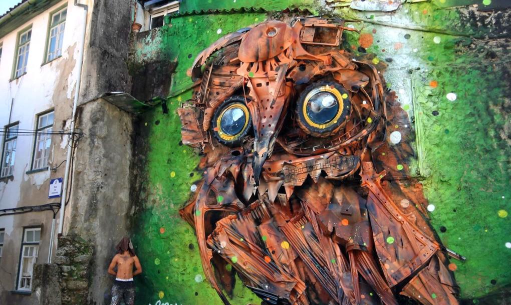 bordalo arte urbana
