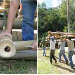 Curso de Construção com Bambu