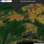 Mapa Solar do Rio de Janeiro: Aplicativo indica potencial de geração de energia