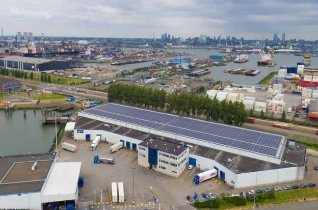 Maior porto da Europa energia solar