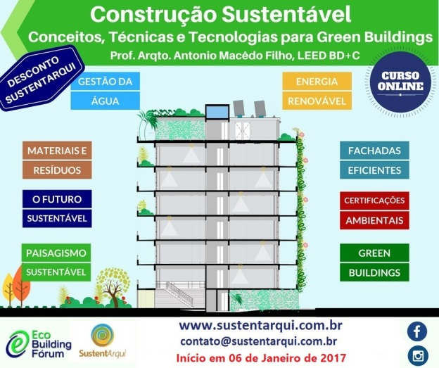 Curso Construção Sustentável Online
