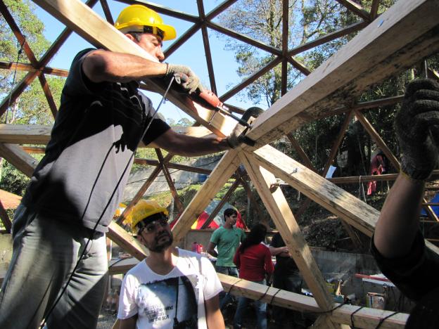 Curso Construção de domos geodésicos