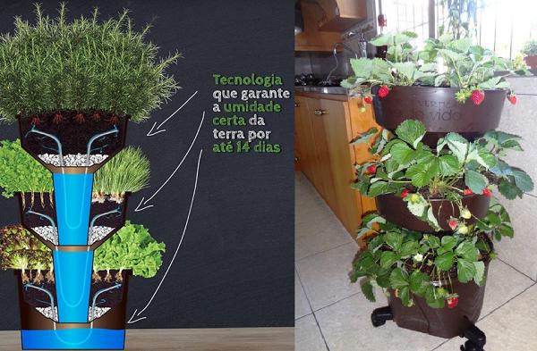 kit horta fácil
