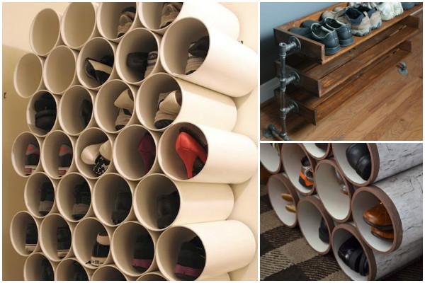 tubos na decoração