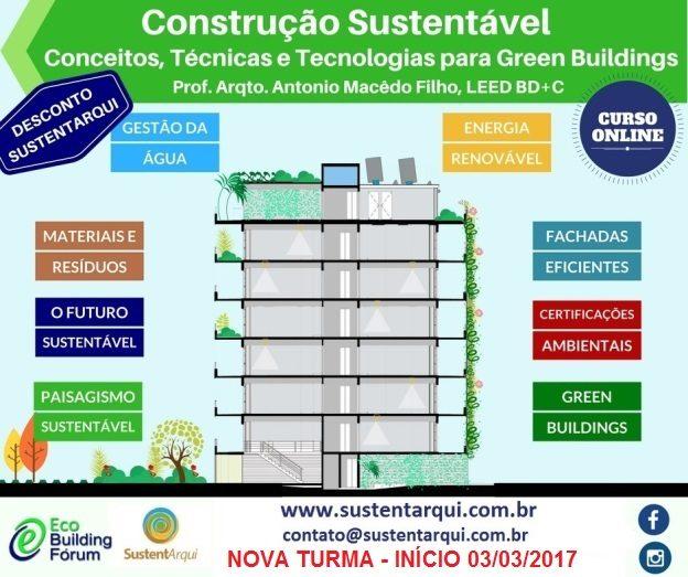 curso online construções sustentaveis