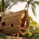 Refúgio em bambu é o destaque de resort ecológico no México