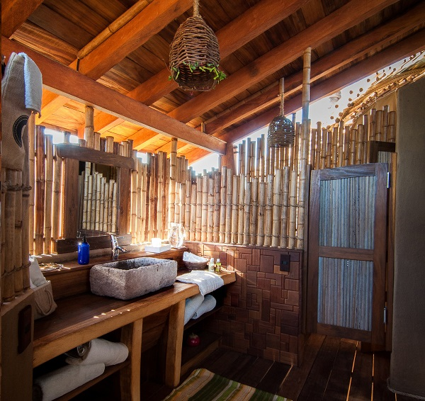 Refúgio em bambu