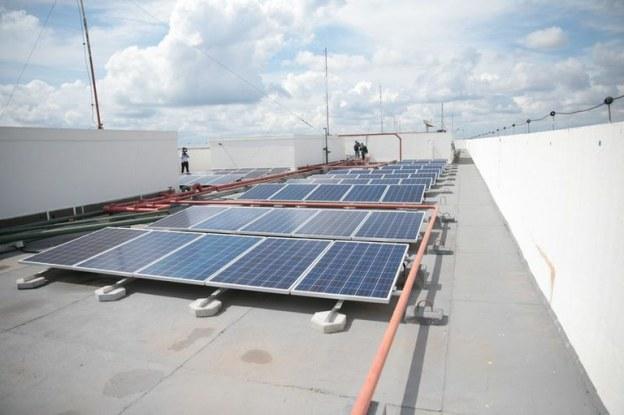 Primeira usina solar em prédio do governo federal