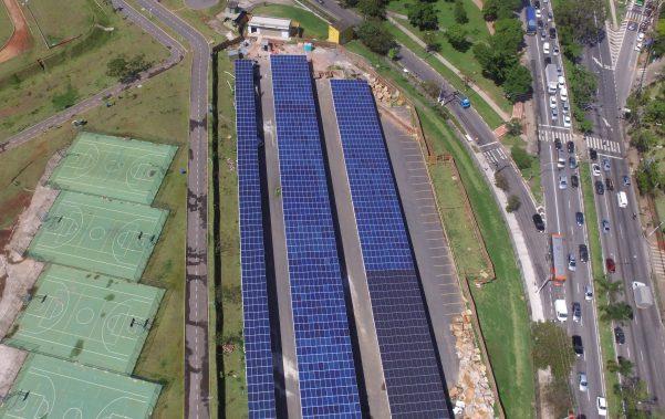 Parque Villa-Lobos autossustentável com energia solar