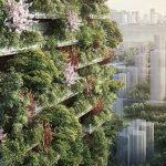 Primeira floresta vertical da China está em construção