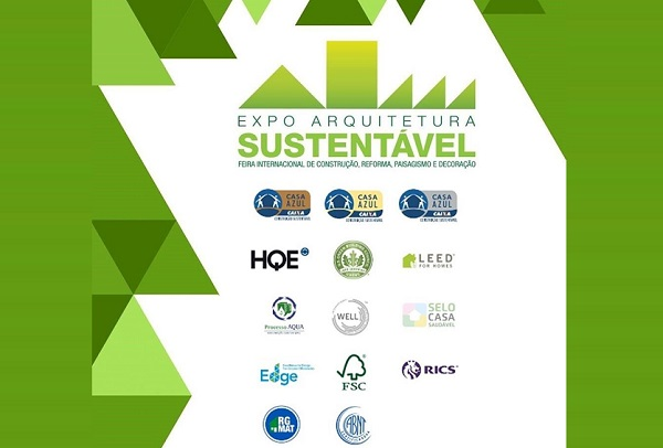 Principais certificações sustentáveis estarão presentes na Expo Arquitetura Sustentável
