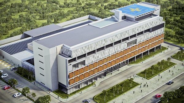 Hospital certificação AQUA-HQE
