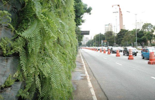 Corredor verde da Avenida 23 de Maio