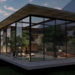Casa do Lago – projeto foi finalista em premiação de arquitetura sustentável
