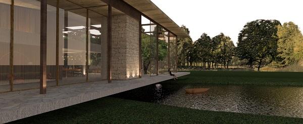 casa do lago projeto premiado arquitetura sustentável