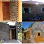 10 construções com reutilização de garrafas