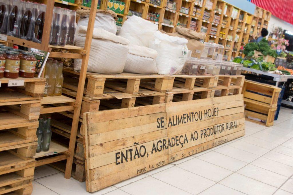 Supermercado 100% orgânico