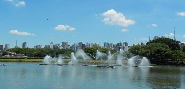 Despoluição dos lagos do Ibirapuera