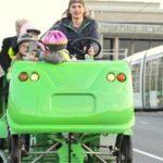 Cyclobus: pedalando e aprendendo a usar as ruas de uma cidade da França