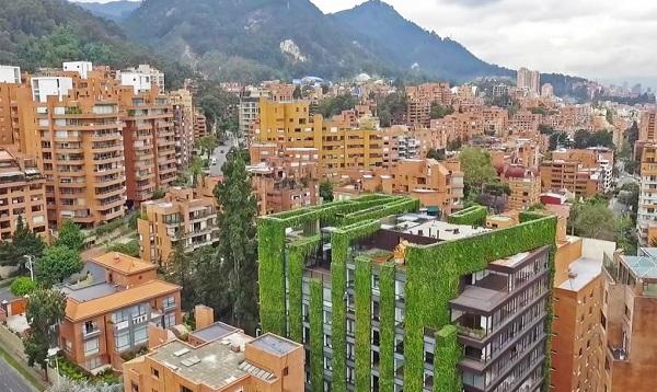 maior jardim vertical do mundo
