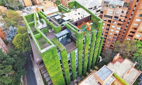 o maior jardim vertical do mundo