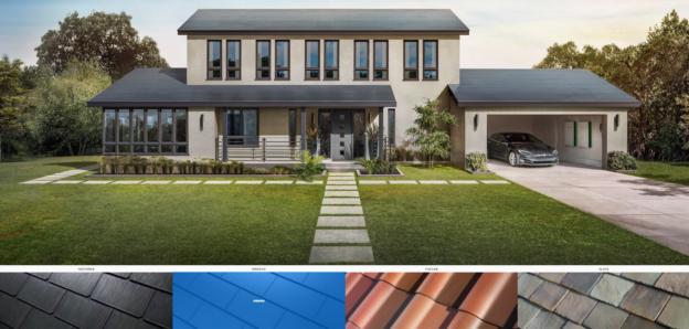 telhado solar da tesla
