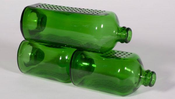 tijolo de garrafa de cerveja heineken