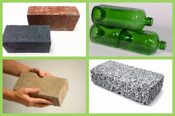 tijolos ecológicos inovadores