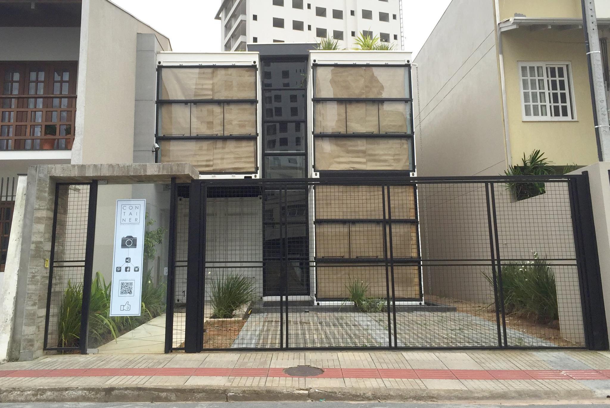 construção em Container em Itajaí fachada