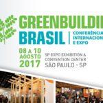 Greenbuilding Brasil 2017 – o maior encontro da construção verde da América Latina
